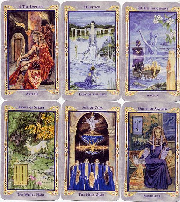Ý nghĩa bộ bài Legend The Arthurian Tarot