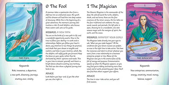 Sách hướng dẫn 78 lá bài Oceanic Tarot