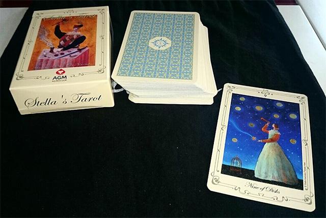 Stella's Tarot - Nghệ Thuật Huyền Bí Hài Hòa Trong Tổng Thể