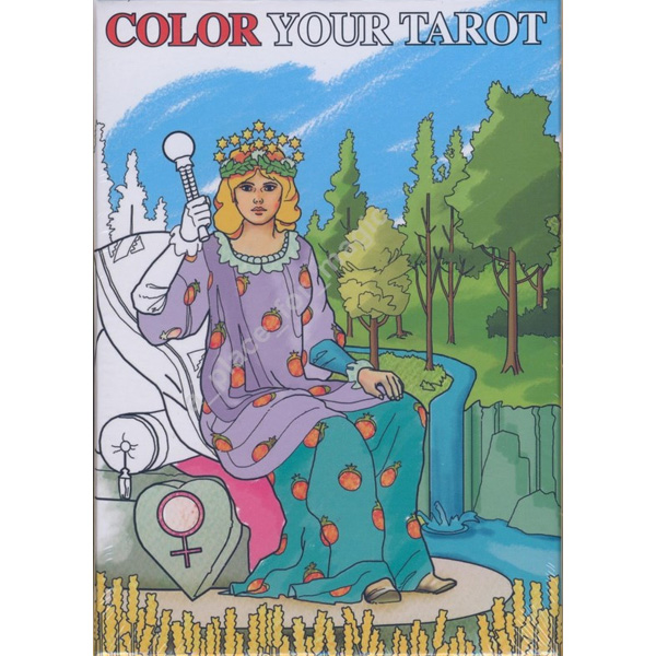 Color Your Tarot 18