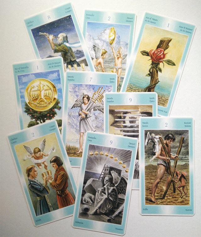 Hướng dẫn sử dụng bộ bài Tarot of Angels