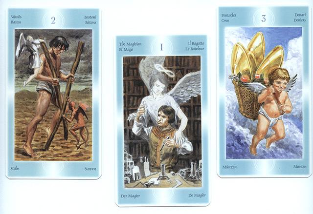 Cảm nhận bộ bài Tarot of Angels