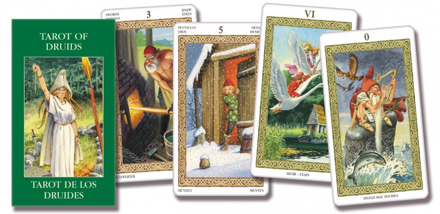 Tarot of the Druids - Tiên Tri Từ Các Thần Rừng