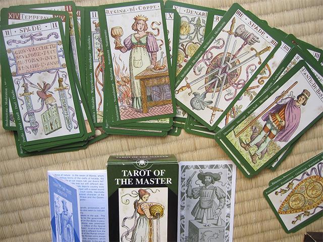 Tarot of the Master - Bộ Bài Cổ Của Các Bậc Thầy Tarot