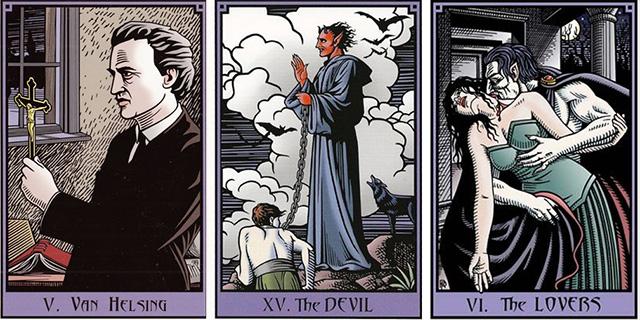 Hướng dẫn sử dụng bộ bài Vampire Tarot của Robert Place