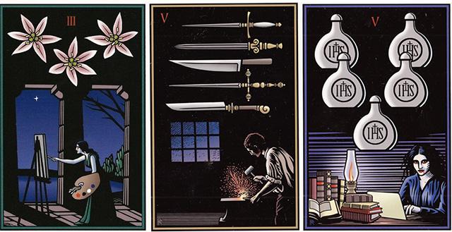 Cảm nhận ý nghĩa lá bài Vampire Tarot -  Robert  M. Place