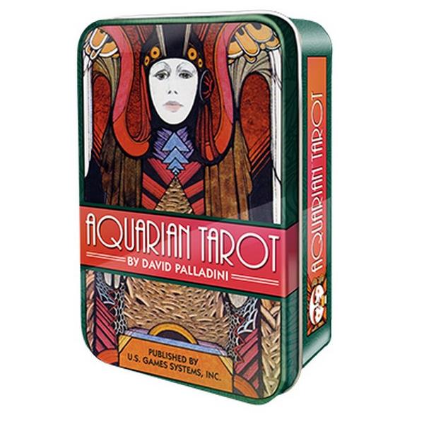 Aquarian Tarot - Tin Edition 17