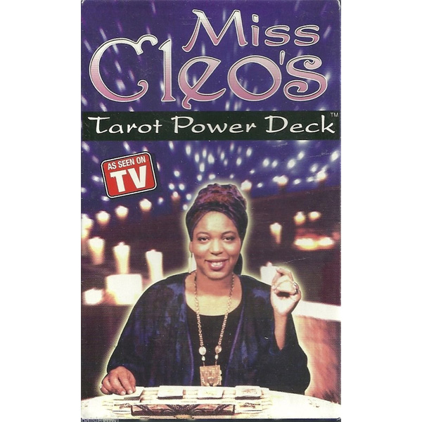 Miss Cleo's Tarot Card Power Deck 25