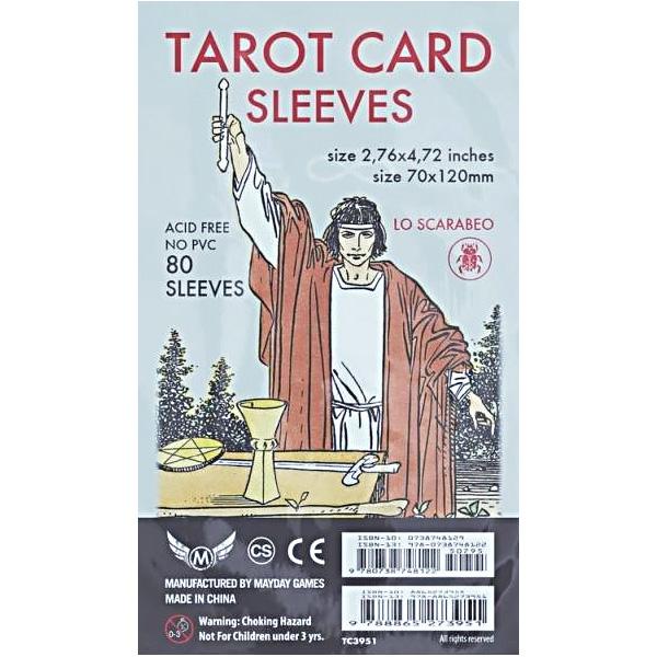 Plastic Bọc Lá Bài Tarot 18