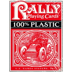 Plastic Rally Playing Cards (Đỏ) 8