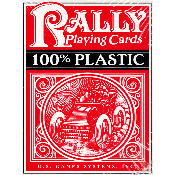 Plastic Rally Playing Cards (Đỏ) 19
