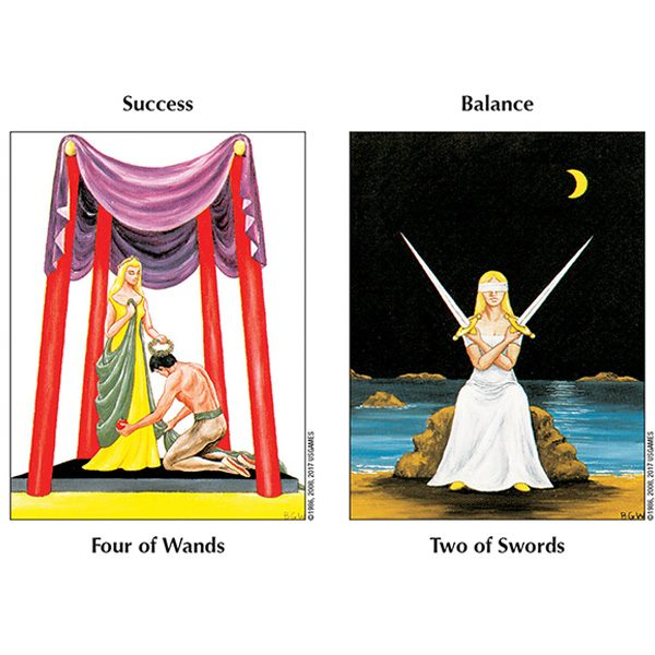 Barbara Walker Tarot – Tin Edition 7