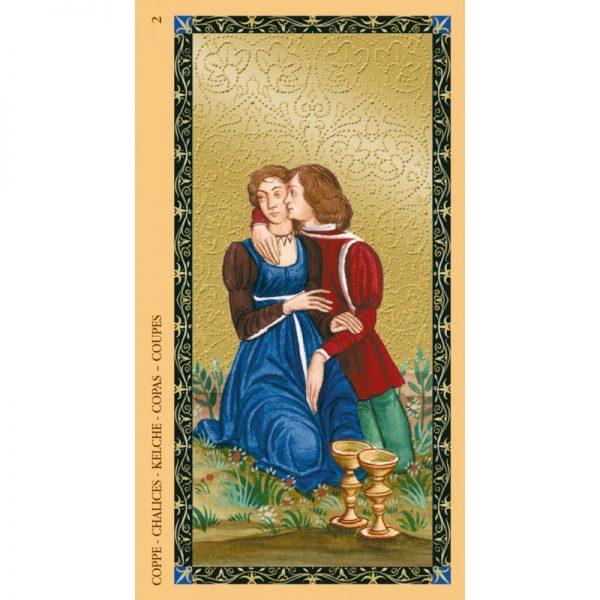 Golden Tarot of Renaissance 5