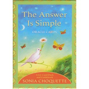 Answer is Simple Oracle Cards 30