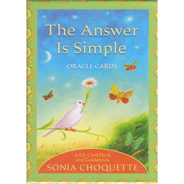 Answer is Simple Oracle Cards 36