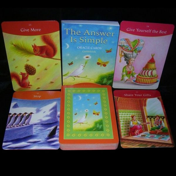 Answer is Simple Oracle Cards 2