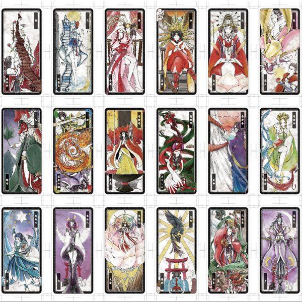 Japanese Folklore Tarot 4