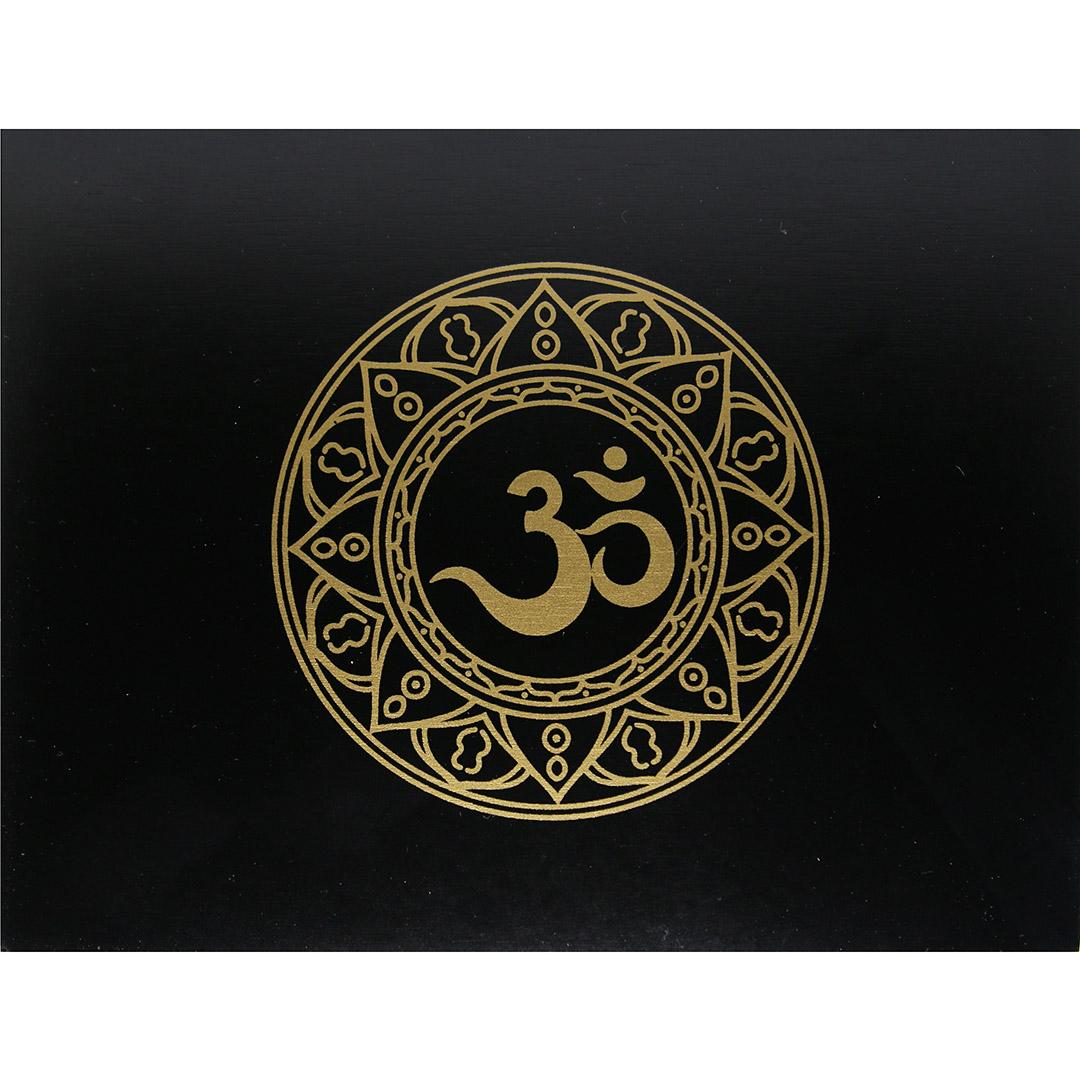 Hộp Gỗ Đen Mantra Đựng Bài Tarot 7