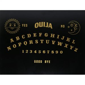 Hộp Gỗ Đen Ouija Đựng Bài Tarot 8