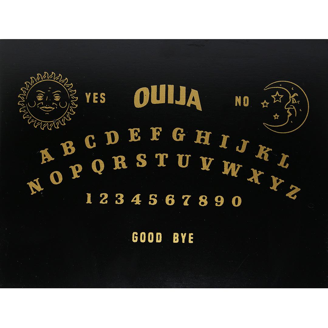 Hộp Gỗ Đen Ouija Đựng Bài Tarot 17