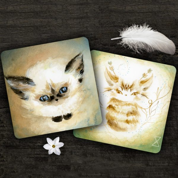 Spirit Cats Inspirational Card 3