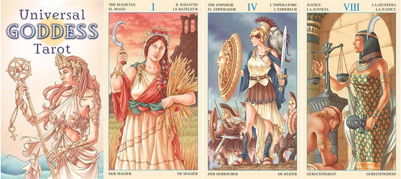 Universal Goddess Tarot - Sự Dẫn Dắt Tâm Linh Của Các Nữ Thần 1