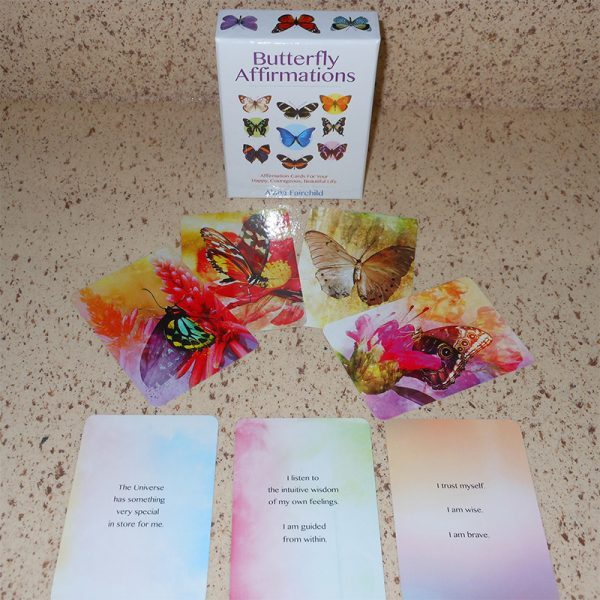 Butterfly Affirmations Cards 5