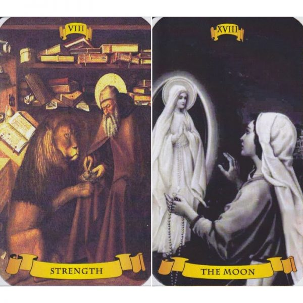 Holy Card Tarot 4