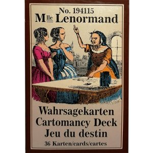 Mlle Lenormand Cartomancy Deck 22