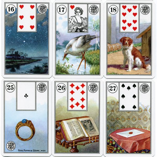 Mlle Lenormand Cartomancy Deck 4