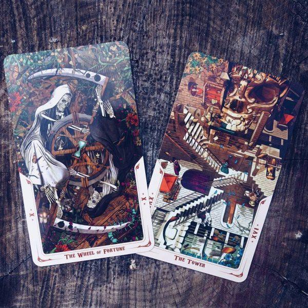 Santa Muerte Tarot 6