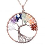 Mặt Dây Chuyền Tree of Life Chakra 1