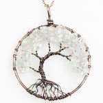 Mat Day Chuyen Tree of Life Clear Quartz 1