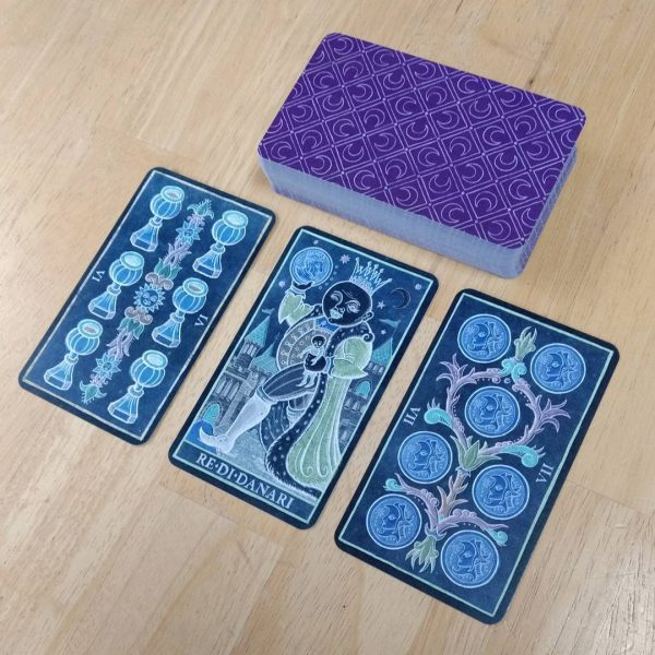 333 Tarot Trionfi dela Luna (Paradoxical Blue Limited Edition) 10