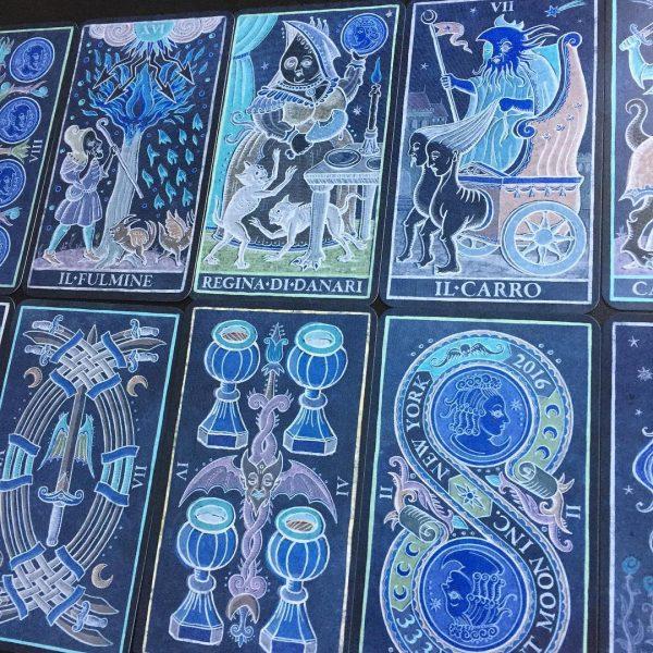 333 Tarot Trionfi dela Luna (Paradoxical Blue Limited Edition) 11
