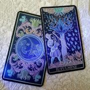 333 Tarot Trionfi dela Luna (Paradoxical Blue Limited Edition) 4