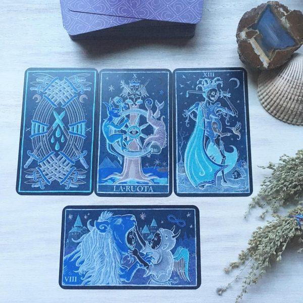 333 Tarot Trionfi dela Luna (Paradoxical Blue Limited Edition) 9