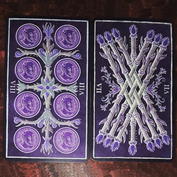 333 Tarot Trionfi dela Luna (Paradoxical Purple Limited Edition) 4