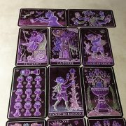 333 Tarot Trionfi dela Luna (Paradoxical Purple Limited Edition) 5