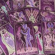 333 Tarot Trionfi dela Luna (Paradoxical Purple Limited Edition) 8