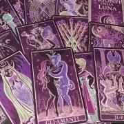 333 Tarot Trionfi dela Luna (Paradoxical Purple Limited Edition) 8