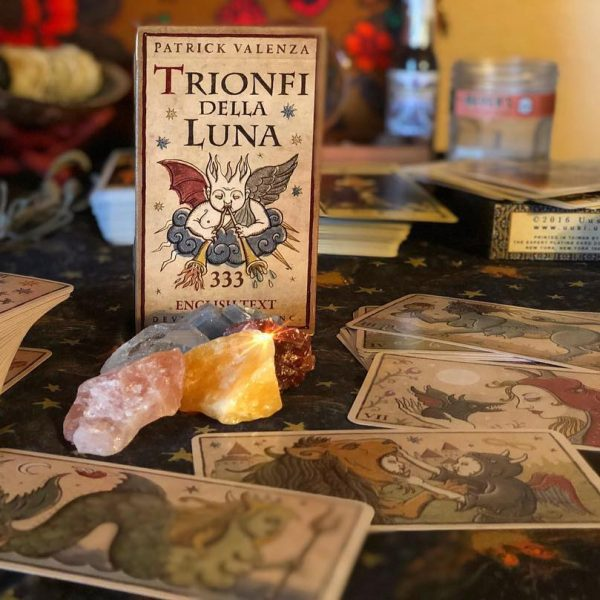 333 Tarot Trionfi della Luna (English Edition) 3