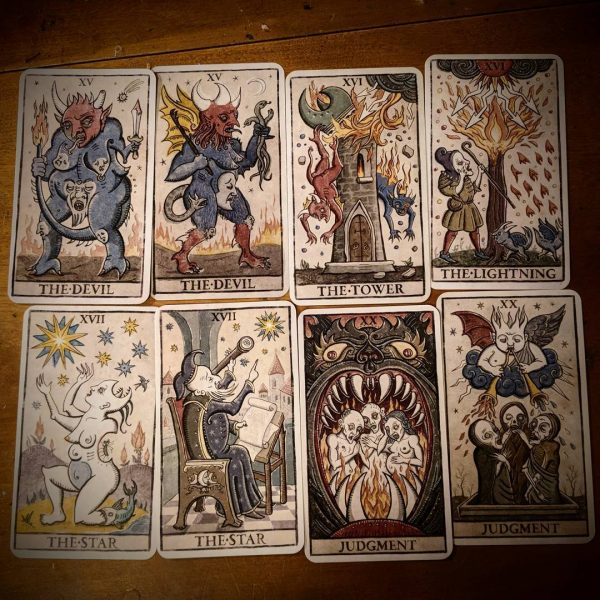 333 Tarot Trionfi della Luna (English Edition) 4