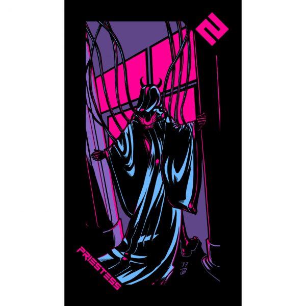 Neon Moon Tarot 3