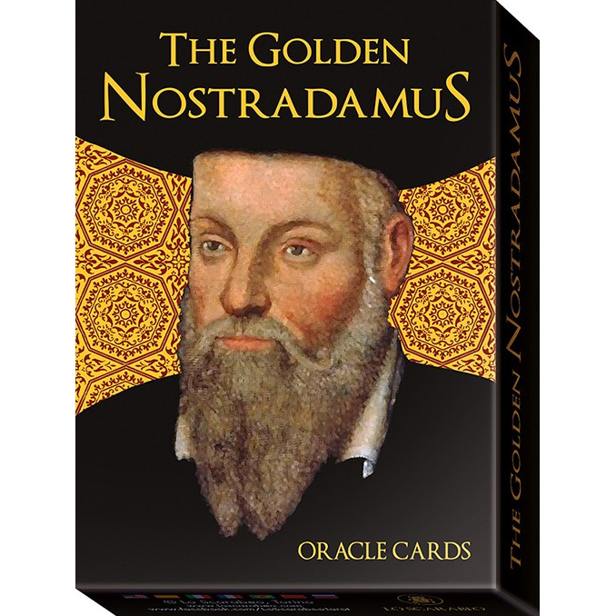 Golden Nostradamus Oracle Cards 23