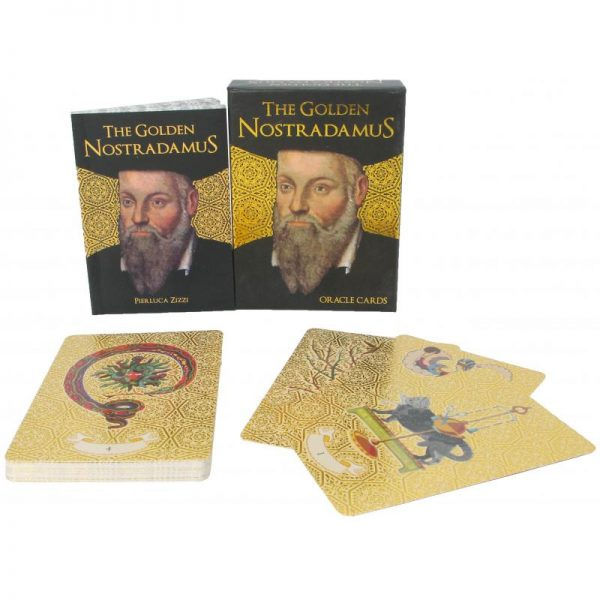 Golden Nostradamus Oracle Cards 6