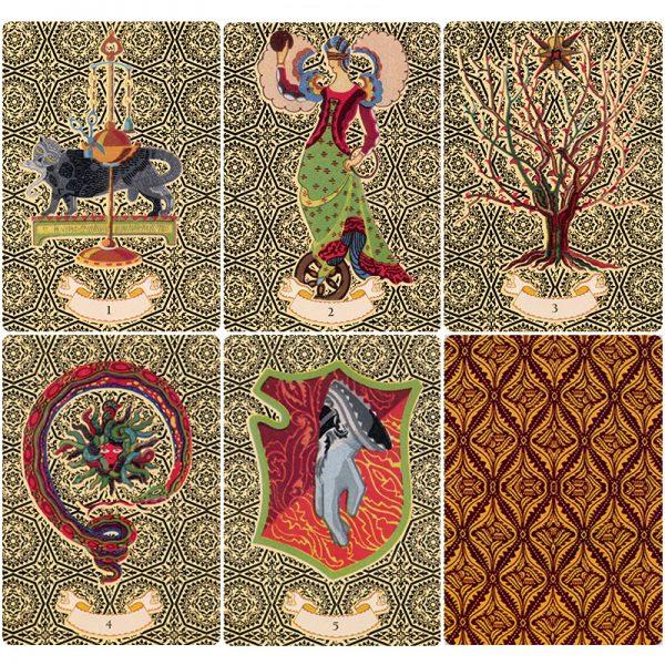 Golden Nostradamus Oracle Cards 7