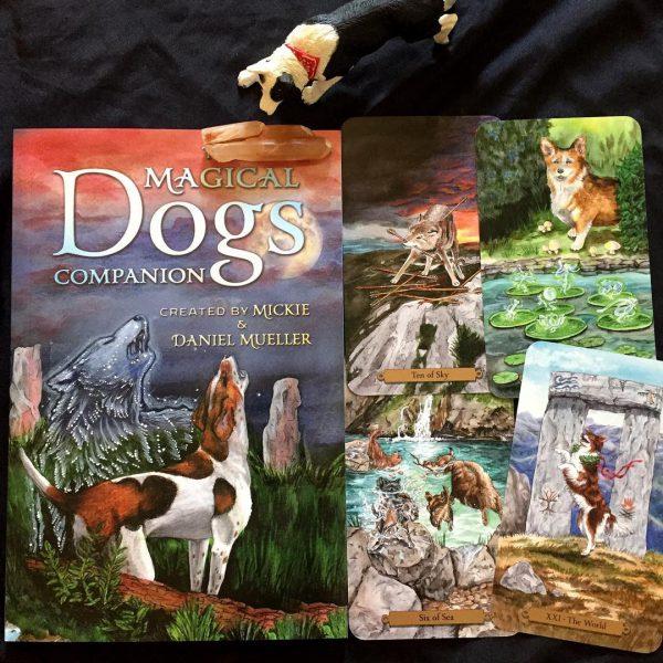 Magical Dogs Tarot 8