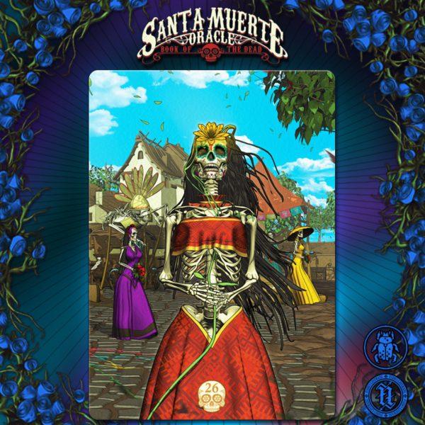 Santa Muerte Oracle 5