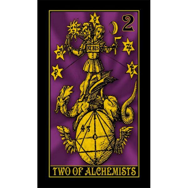 Alchemystic Woodcut Tarot 4